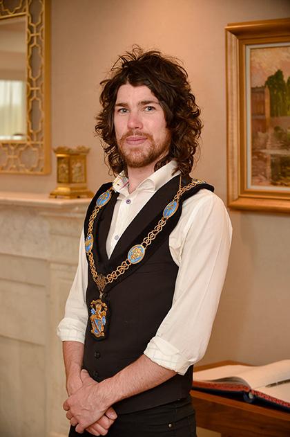 Lord Mayor Garath Keating