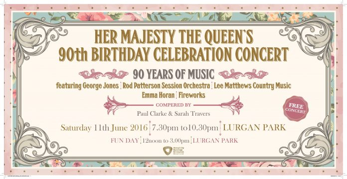 CELEBRATE THE QUEENSS 90TH BIRTHDAY IN STYLE WITH A DAY OF FREE EVENTS AT LURGAN PARK