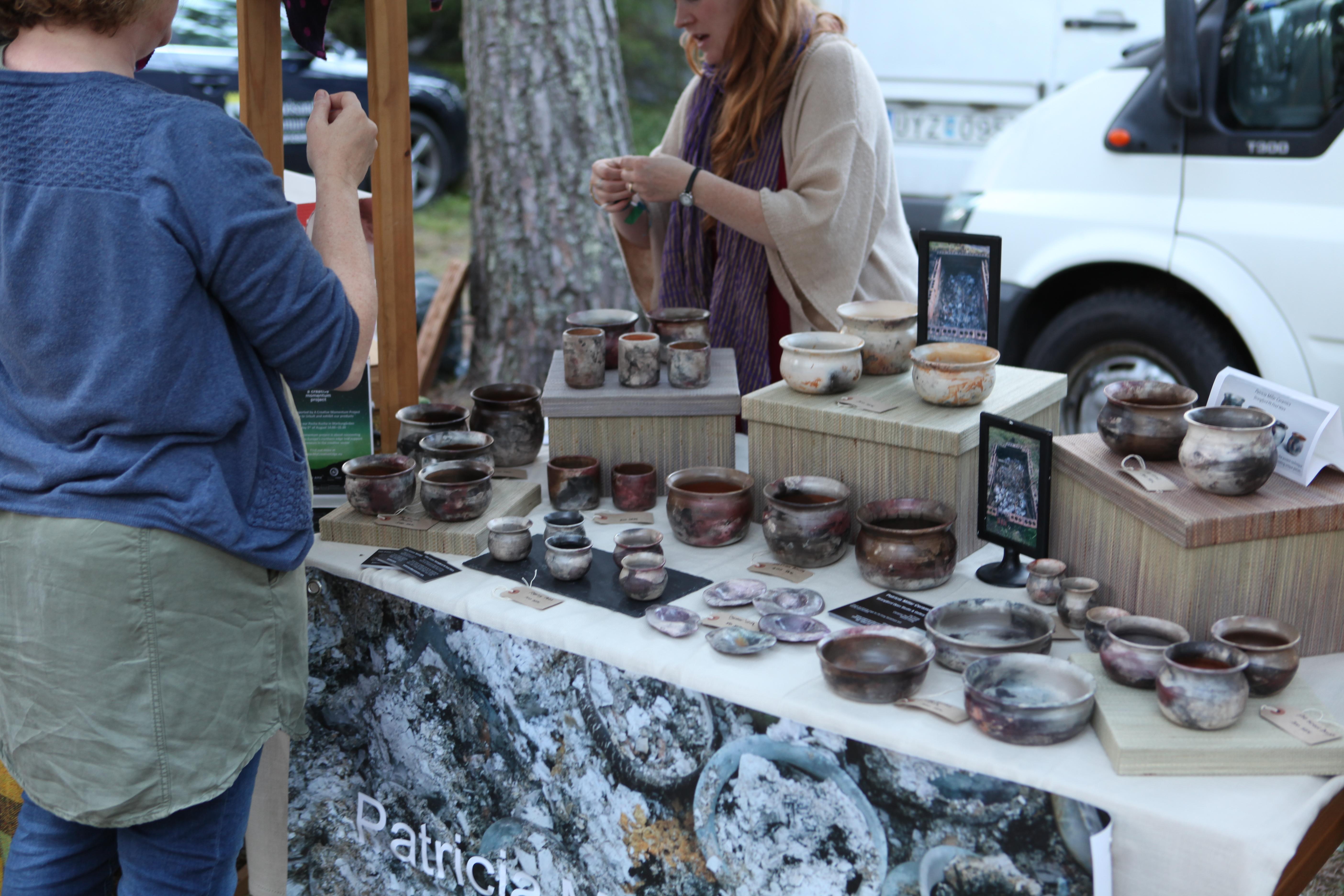 Local Ceramics Big Hit at Swedish Festival - Armagh City, Banbridge and Craigavon Borough Council