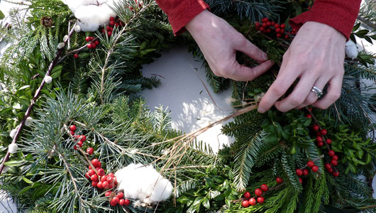 Armagh city banbridge and craigavon borough council Making wreaths