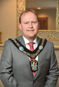 Lord Mayor Gareth Wilson
