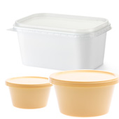 butter tubs