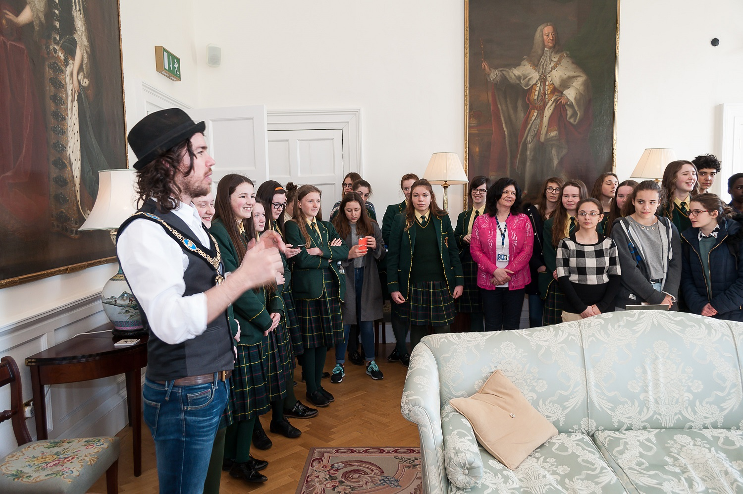 St Catherines College And French Exchange Students Visit