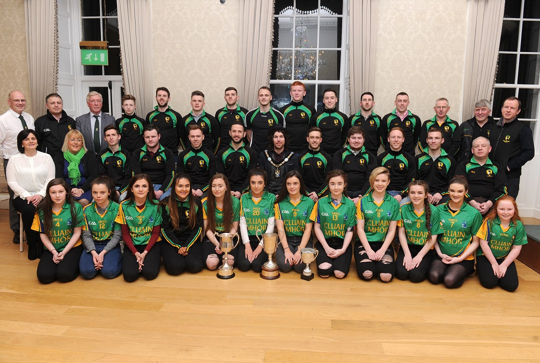Lord Mayor Hosts Clonmore Robert Emmets Gfc Armagh City