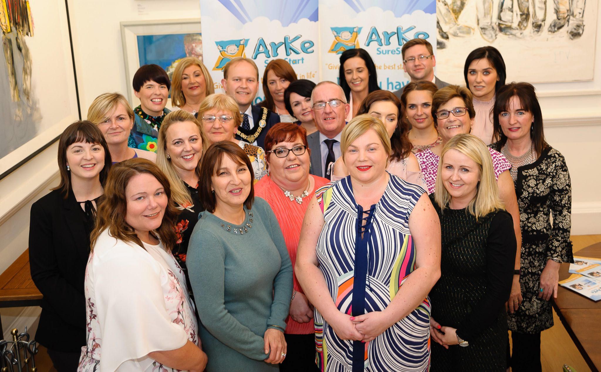 Lord Mayor Celebrates 10 Years Service For Arke Sure Start