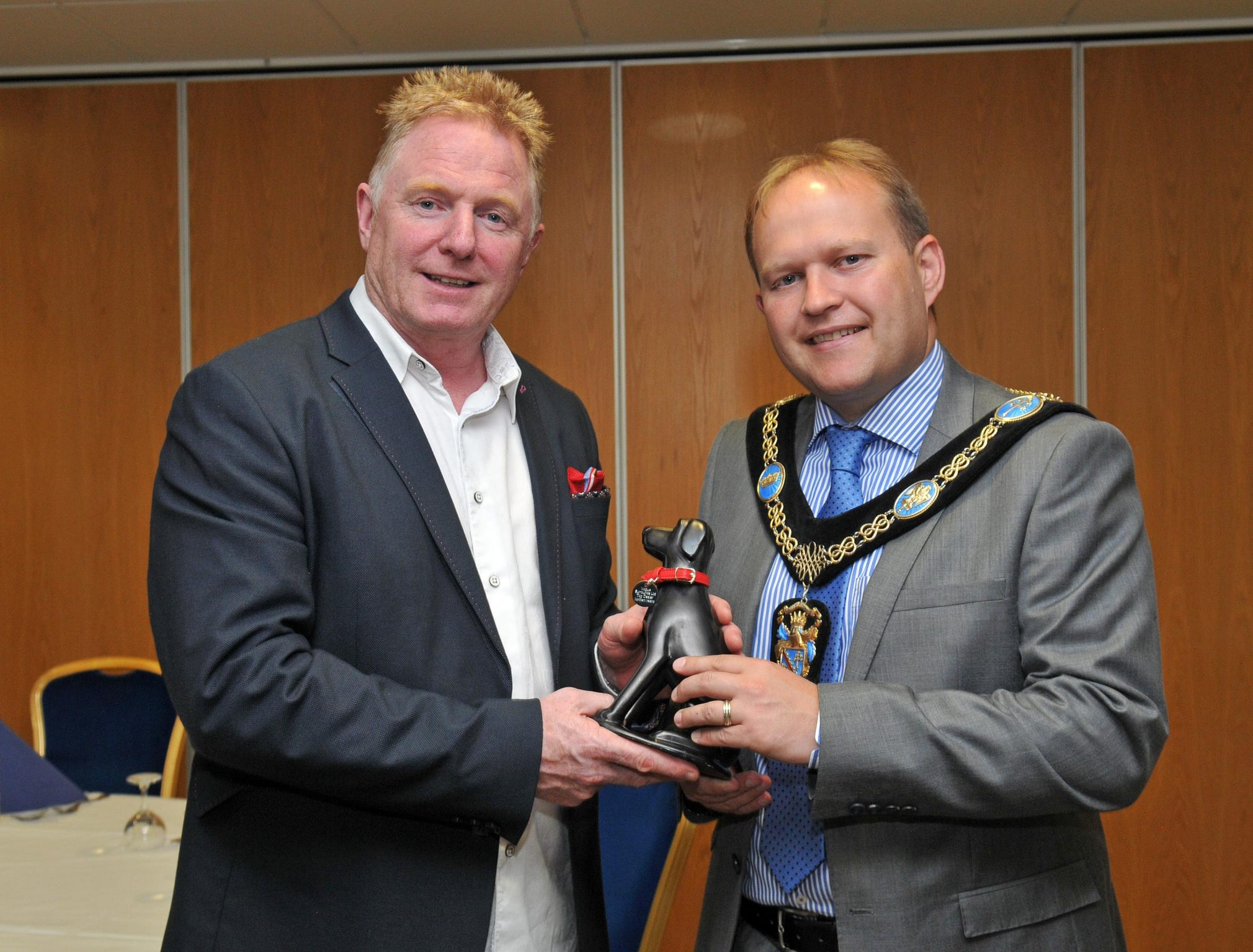 Lord Mayor Congratulates Portadown Fireplaces Armagh