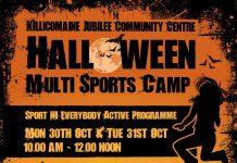 Multi Sports Camp at Killicomaine Jubilee Community Centre