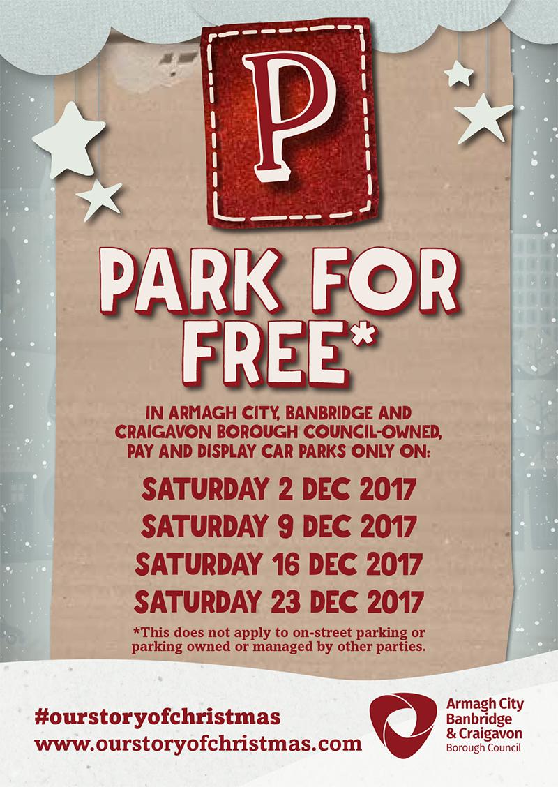 Free Parking Christmas