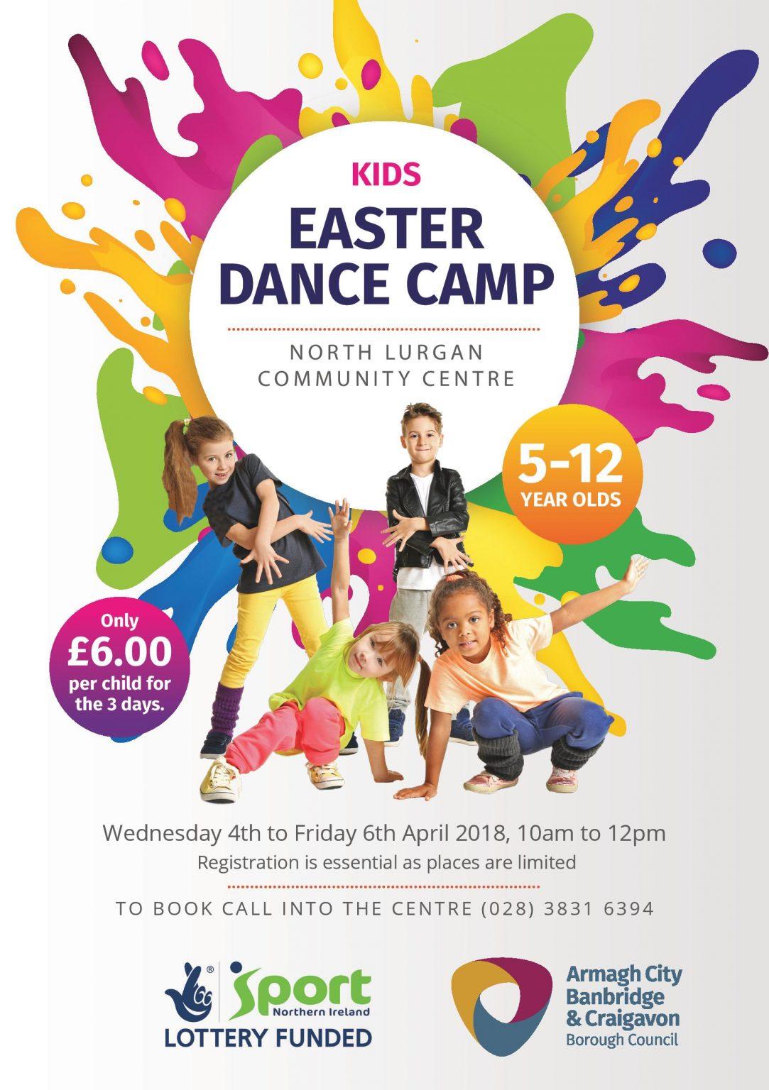 Easter Dance Camp At North Lurgan Community Centre