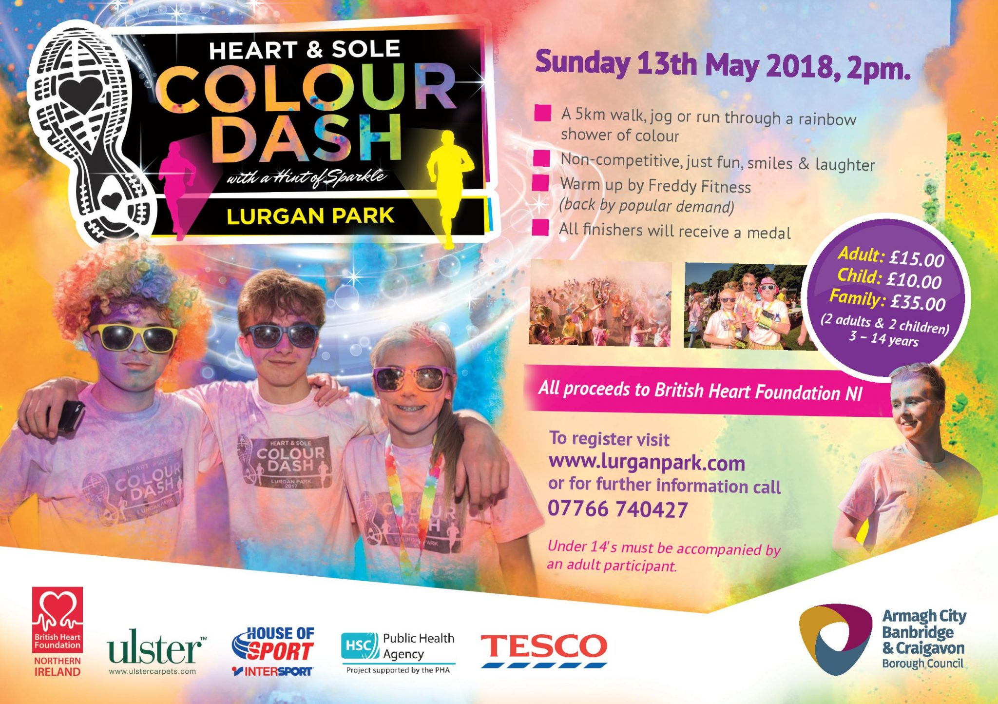 Heart Amp Sole Colour Dash Is Back Amp Bigger For 2018