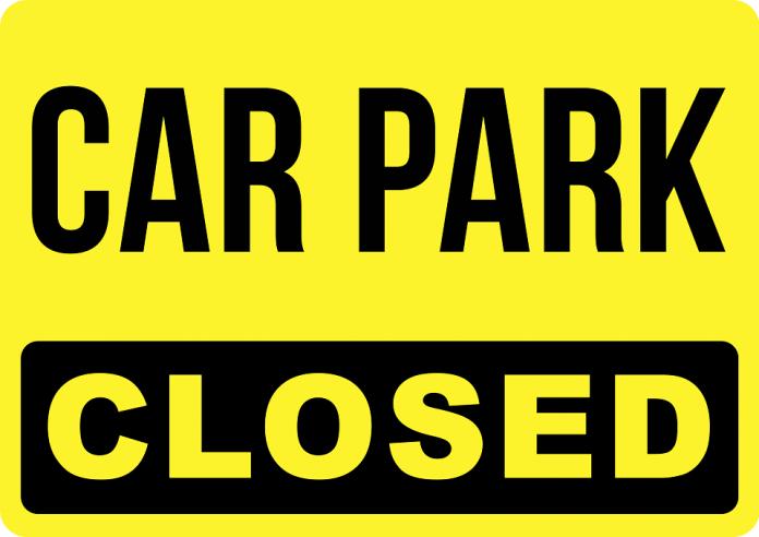 temporary car park closure at havelock park