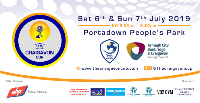 Portadown Peoples Park Gets Ready For Craigavon Cup