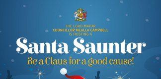 Santa Saunter