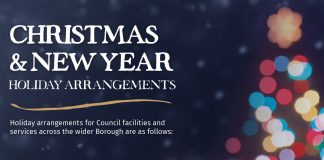 Christmas & New Year Holiday Arrangements