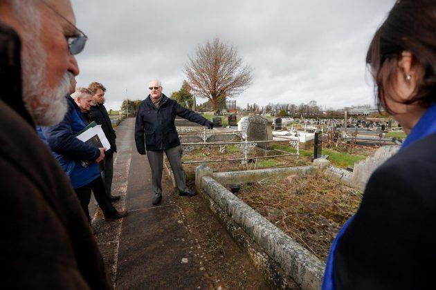 Burial Memorial Safety Workshop in Seagoe Graveyard.