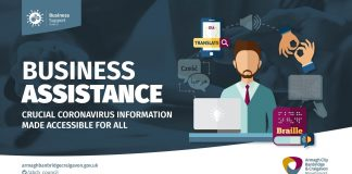 Armagh City, Banbridge and Craigavon Borough Council is working in conjunction with the PSNI to try to reach members of our community that may experience language barriers in receiving important Covid-19 information.