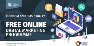 Tourism and Hospitality businesses encouraged to sign up to free Online Digital Marketing Course