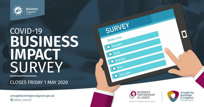 Armagh City, Banbridge and Craigavon Borough Council wants to ensure all voices from our local business community are heard and that appropriate support is available, which is why we are teaming up with the Business Partnership Alliance to launch the COVID-19 Business Impact Survey.