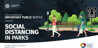 Social Distancing guidelines for parks