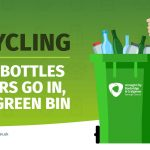 Glass recycling in Green Bins