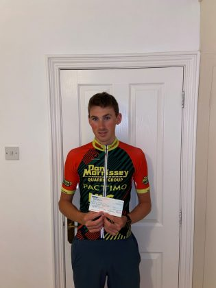 James Curry, Tier 1 Bursary, Cycling