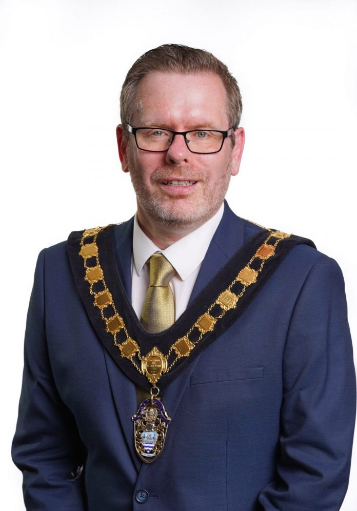 Lord Mayor Kevin Savage