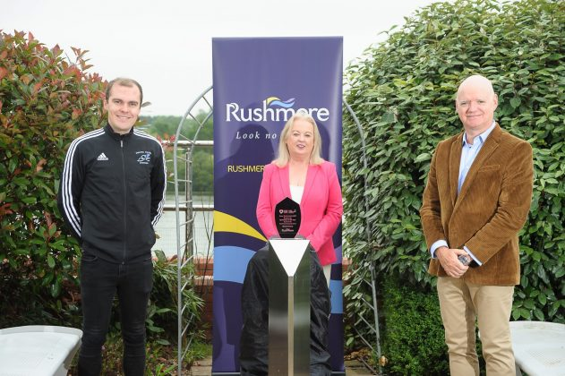 Edith Jamison – ABCSF Chair Martin Walsh - Rushmere