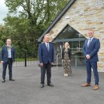 The Lord Mayor pictured at Ballymacanallen Community Hall
