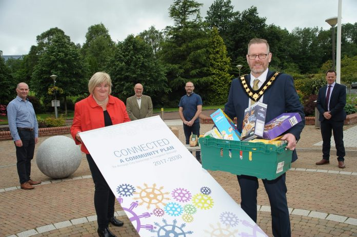 Lord Mayor and Chair of Community Voluntary Sector Panel reveal results of food survey