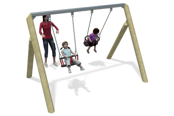 Timber cradle