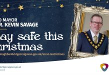 Lord Mayor stay safe this Christmas