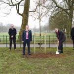Robinson Library 250th Anniversary Tree Planting