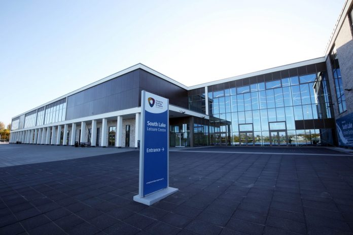 Picture of the new leisure centre in Craigavon
