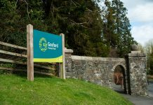 Picture of the entrance of Gosford Forest Park
