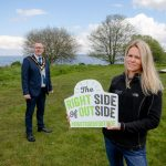 Lord Mayor encourages you to get on the #RightSideOfOutside